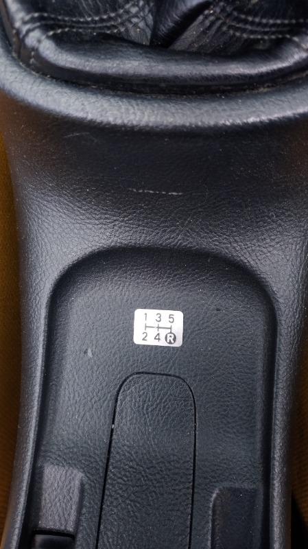 トヨタ(純正) LEXUS IS300純正シフトパターン プレート