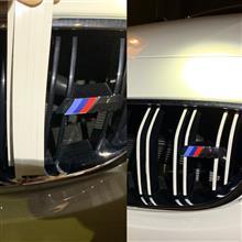 4シリーズ グランクーペHide's オリジナル Mスタイリング ボディカラー グリルシールの単体画像