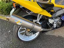 CBR954RRLeo Vince チタンサイレンサーの単体画像