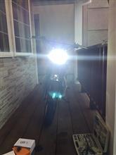 W650LUMILEDS バイク用LEDヘッドライトオールインワン9Sモデル LUMILEDS LED 純正交換H4Hi/Loバルブセット 5000lm高輝度 ハロゲンサイズの全体画像