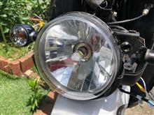 ベンリィBORDAN 直流交流兼用 H4バイク用ledヘッドライトの全体画像