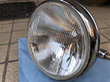 SR400ヤマハ(純正) ヘッドライトの単体画像