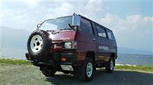 デリカスターワゴン三菱自動車(純正) 純正ド鉄ホイールの全体画像