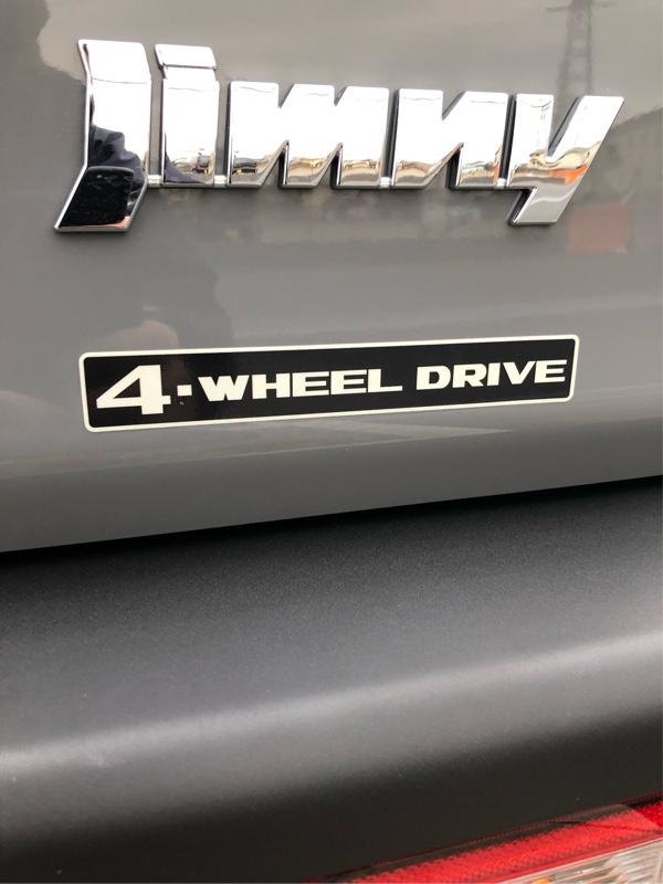 アウトクラスカーズ SUZUKI復刻版 4-WHEEL DRIVE ステッカー