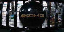 A45 AMG 4MATIC大陸製品 スリーポインデッドスター エンブレムカバーの単体画像
