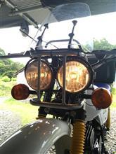 TF125HONDA  ズーマー用ヘッドライトの全体画像
