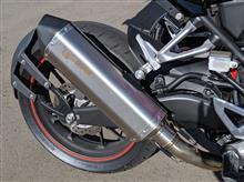 CB250RScorpion Exhausts SERKET SLIP-ON ステンレスの全体画像