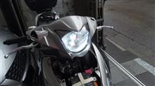 アドレス110(FI)ライミー(LIMEY) LIMEY バイク用ledヘッドライト H4 Hi/Lo L9H4Bの全体画像