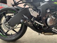 NinjaZX-6RM4 Black GP Slip On Exhaustの単体画像