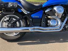 バルカン900 カスタムケンテック ローライダーの全体画像