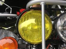 TF125ズーマー用 ヘッドライトカバーの単体画像