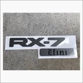マツダ(純正) RX-7エンブレム