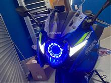 GSX250RKingTech フルLEDヘッドランプの単体画像