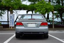 ギャラン三菱自動車(純正) 大型リアスポイラーの全体画像
