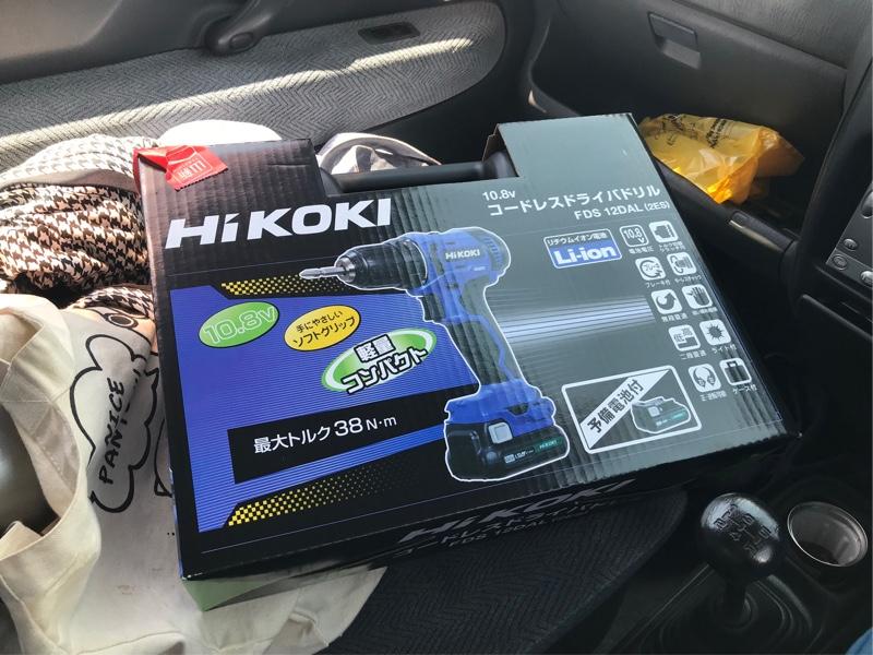 Hitachi koki / 日立工機 コードレスドライバドリル