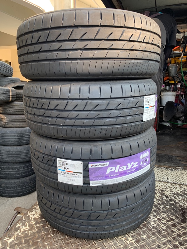 BRIDGESTONE Playz 215/40R18