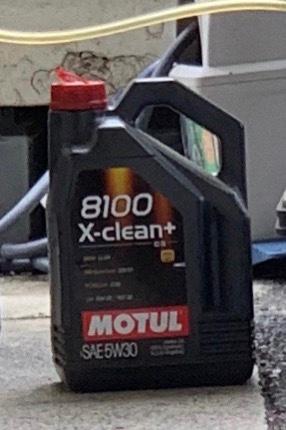 MOTUL 8100 X-clean 5W-40