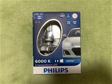 コンチネンタルGTCPHILIPS X-treme Ultinon LED HB3/4 LED Headlight 6000Kの全体画像