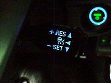 トヨタ(純正) 光るクルーズコントローラースイッチ