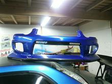 インプレッサ スポーツワゴン WRXVOLTEX フロントバンパーの全体画像