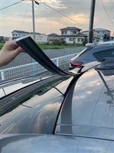 7シリーズUSカスタムパーツ VRS窓ルーフスポイラーウイングの全体画像