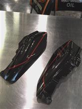 ロードグライドCVOハーレーダビッドソン(純正) エアディフレクターの単体画像