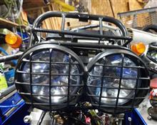 KLX250ホンダ純正 ズーマーヘッドライトの単体画像