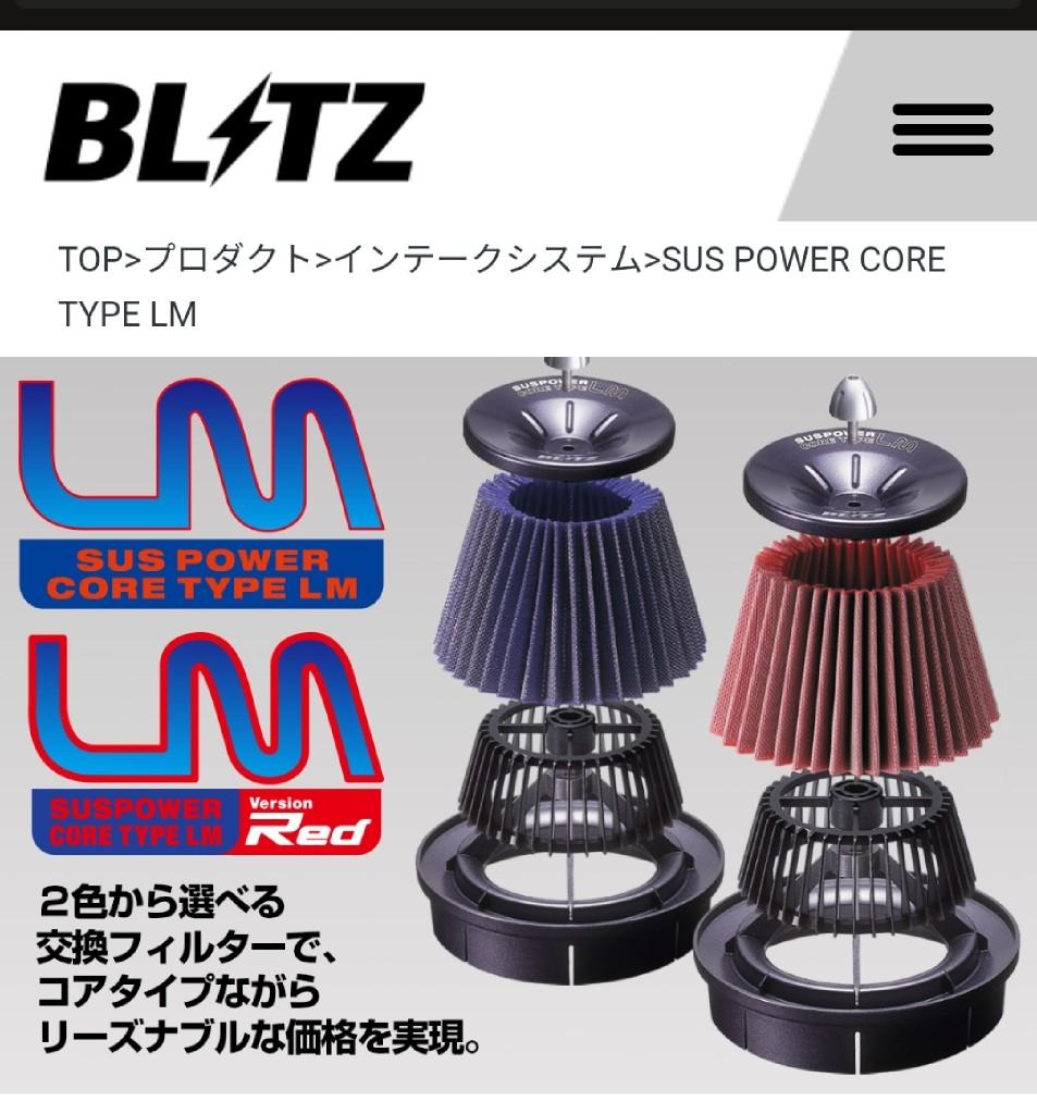 BLITZ SUS POWER CORE TYPE LM