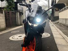 RC 390SPHERE LIGHT RIZING Ⅱ LED H9の全体画像