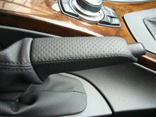BMW(純正) エアロレザーハンドブレーキグリップ