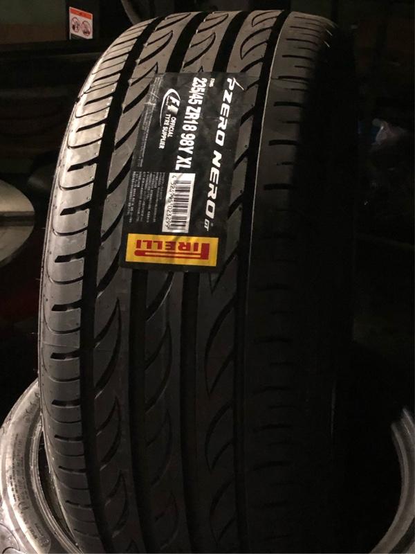 PIRELLI P-ZERO  Nero GT 235/45R18