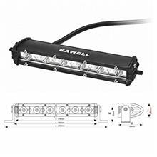 D-TRACKERKAWELL 18W LED 作業灯 ワークライトの全体画像