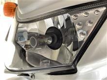 KLX125ノーブランド LEDヘッドライト4000ルーメン CSPチップ H4 Hi/Loの全体画像