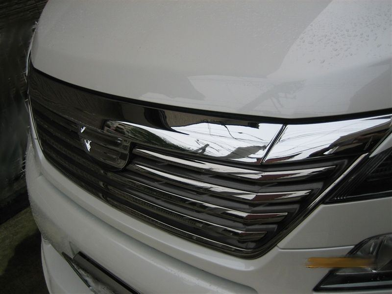 FRONT GRILL CHROME MARKLESS FINISHER