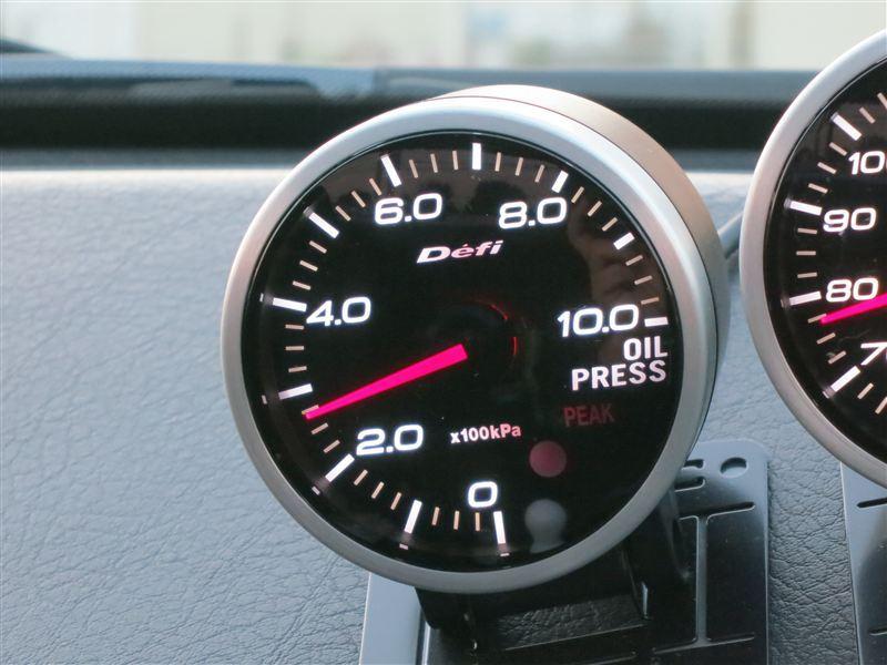 Defi-Link Meter BF 油圧計