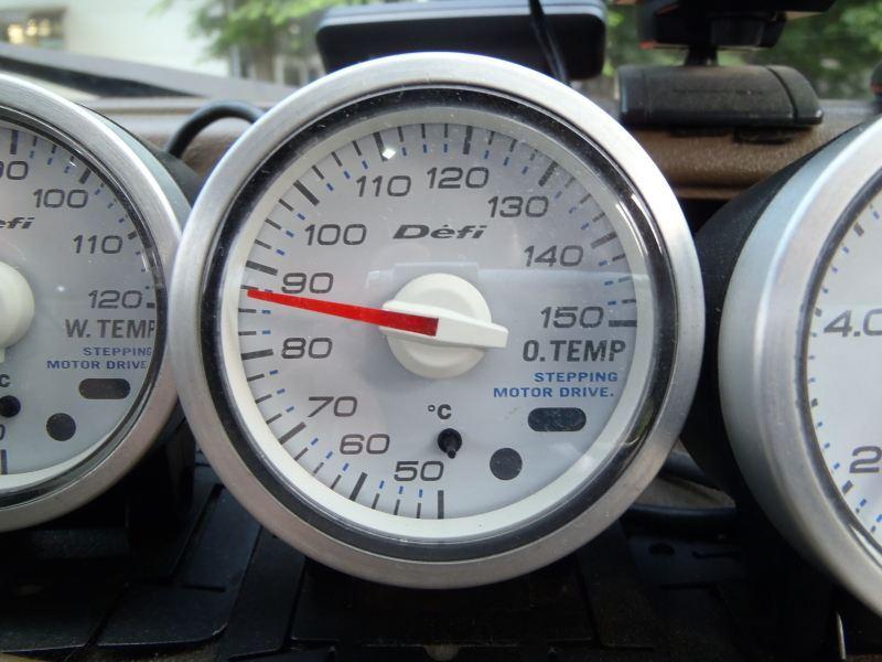 Defi Defi-Link Meter 油温計