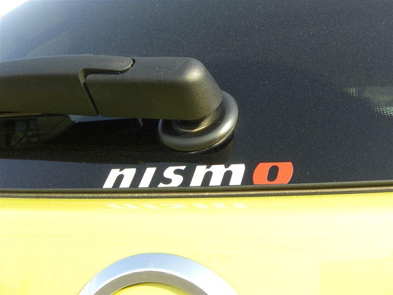 NISMO NISMOロゴステッカー
