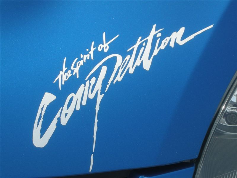 The Spirit of Competition ステッカー