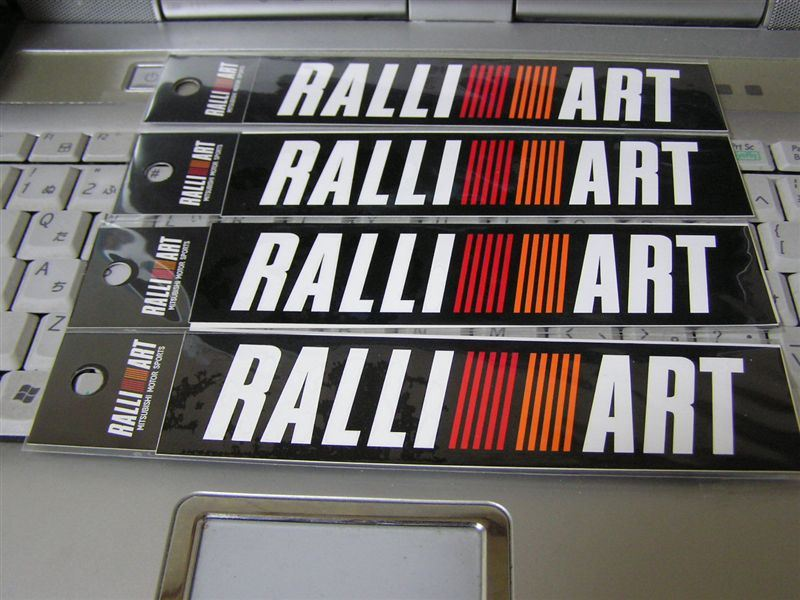 RALLIART RALLI ART ステッカー