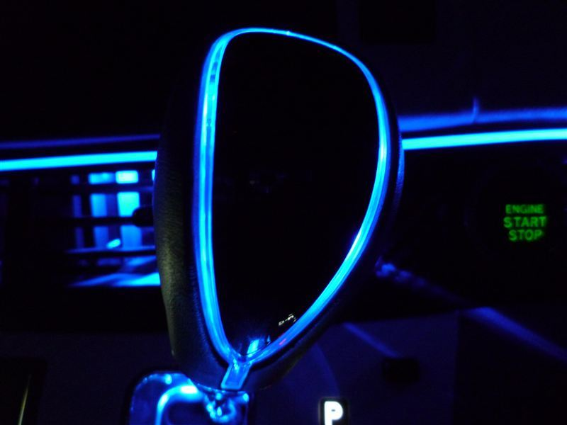 高輝度LEDシフトノブ