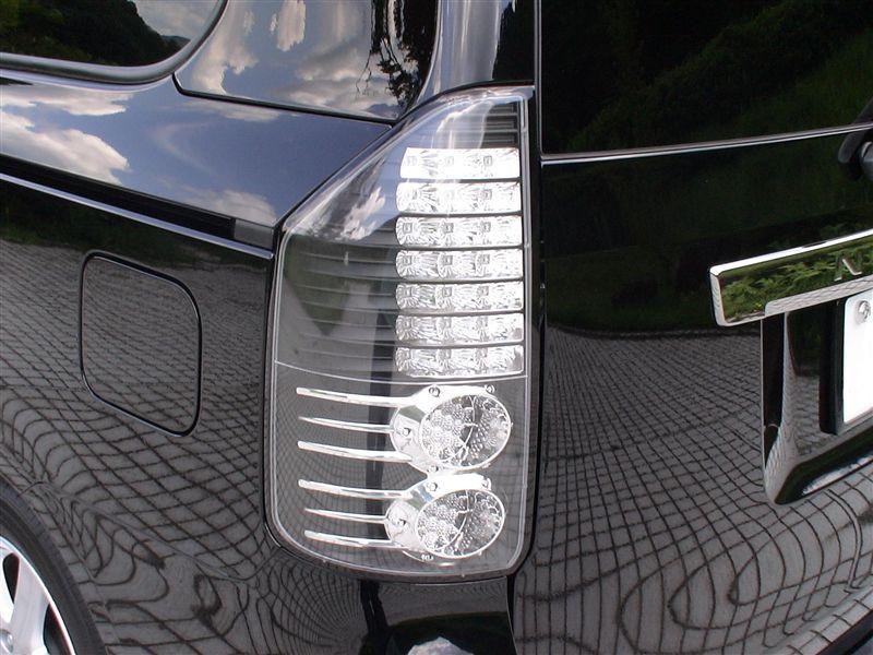 LEDテールランプ クリアブラック