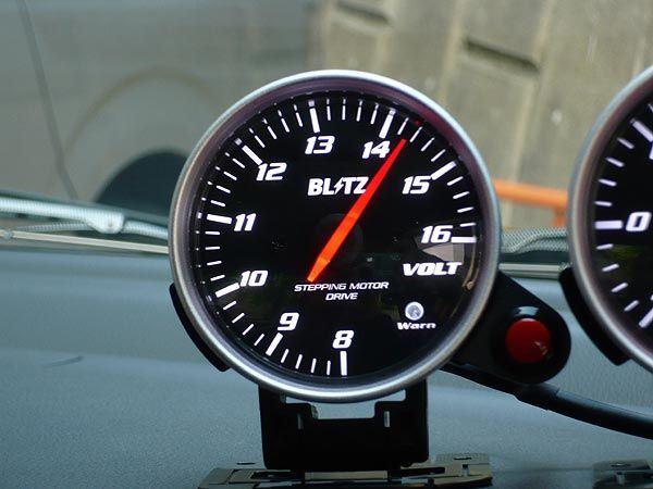 RACING METER SD VOLT METER