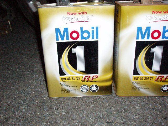 Mobil 1 SERIES Mobil 1 RP 0W-40