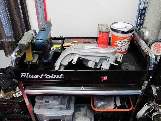 Blue-Point 2段ロールカート
