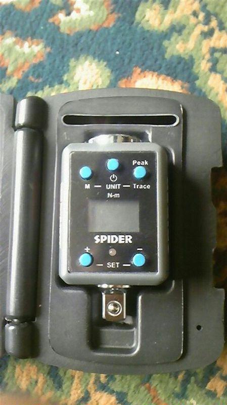 SPIDER デジタルトルクアダプター