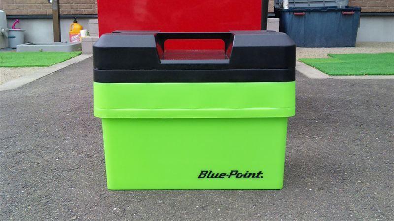 Blue-Point プラスチックツールボックス
