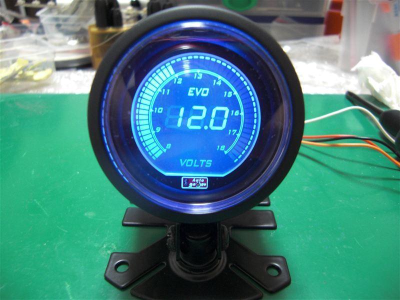 EVO 電圧計 52φ