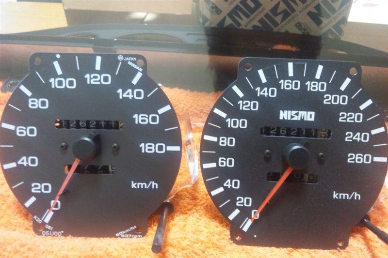 260km/hメーター