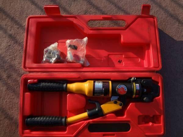 手動油圧式圧着工具