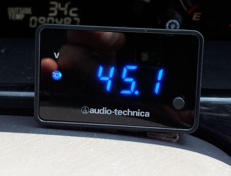 デジタル電圧計 AT-DMX5 BL